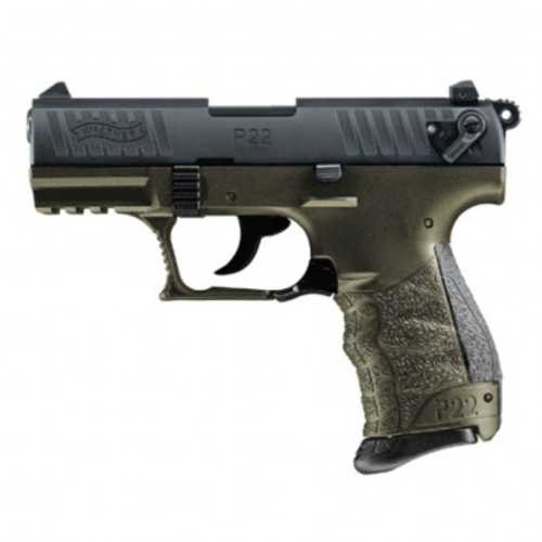 Bucks Jakes Outfitters: WALTHER ARMS P22QD MILITARY 22 LR